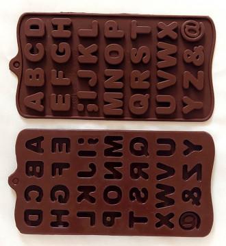 قالب شکلات سیلیکونی حروف انگلیسی 2204024
