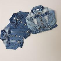 کت جینز دخترانه 27989 سایز 2 تا 9 سال مارک BLUE SEVEN