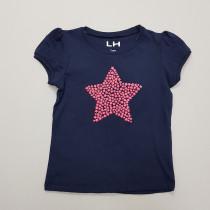 تی شرت دخترانه 27943 سایز 3 تا 10 مارک LH