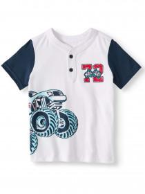 تی شرت پسرانه 27975 سایز 4 تا 10 سال مارک Garanimals