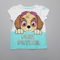 تی شرت دخترانه 28041 سایز 2 تا 6 سال مارک Nickelodeon