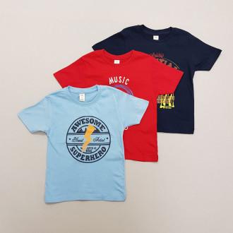 تی شرت پسرانه 28237 سایز 4 تا 10 سال مارک MONKEY