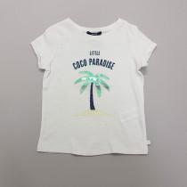 تی شرت دخترانه 28340 سایز 4 تا 14 سال مارک OKAIDI