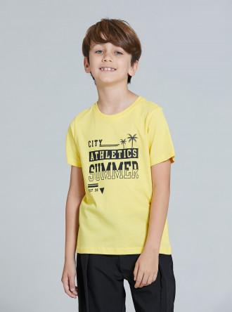 تی شرت پسرانه 28343 سایز 3 تا 14 سال مارک PIAZA ITALIA
