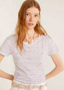 تی شرت زنانه 28427 مارک MANGO