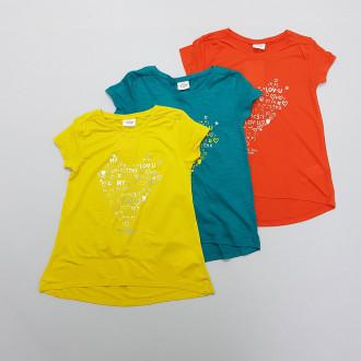 تی شرت دخترانه 28456 سایز 2 تا 10 سال مارک TAPEA LOEIL