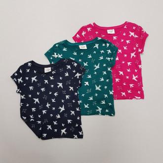 تی شرت دخترانه 28446 سایز 2 تا 14 سال مارک TAPEA LOEIL