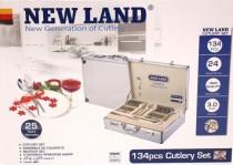 ست قاشق و چنگال 134 پارچه نیولند کد 700231 (HKM)