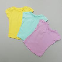 تی شرت دخترانه 28273 سایز 3 ماه تا 10 سال کد 12 مارک MOTHERCARE