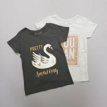 تی شرت دخترانه 28521 سایز 7 تا 15 سال مارک PRIMARK