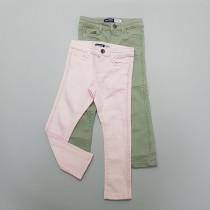 شلوار جینز دخترانه 28594 سایز 3 تا 12 سال مارک OKAIDI