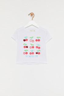 تی شرت دخترانه 28729 سایز 3 تا 14 سال