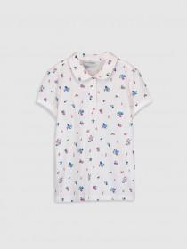 تی شرت دخترانه 28813 سایز 3 تا 12 سال مارک LC WALKIKI