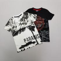 تی شرت پسرانه 28804 سایز 5 تا 14 سال
