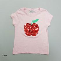 تی شرت دخترانه 28732 سایز 2 تا 8 سال کد 1 مارک SWEET HEART