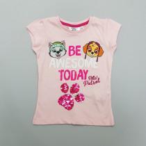 تی شرت دخترانه 28732 سایز 3 تا 6 سال کد 3 مارک NICKELODEON