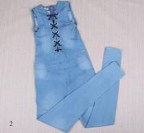 پیشبنددار جینز زنانه 18761 سایز 24 تا 32 مارک ZARA