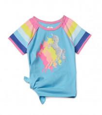 تی شرت دخترانه 27971 سایز 4 تا 10 سال مارک Garanimals   *