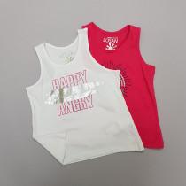 تی شرت حلقه ای دخترانه 28957 سایز 8 تا 16 سال مارک LOSAN   *
