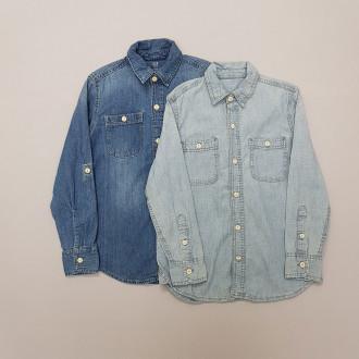 پیراهن جینز دخترانه 29225 سایز 2 تا 16 سال مارک GAP