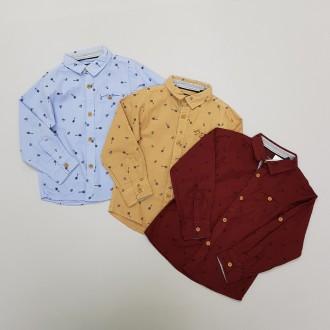 پیراهن پسرانه 29624 سایز 2 تا 8 سال مارک KIABI