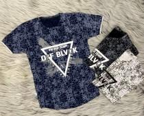 تی شرت پسرانه off black کد 2204248