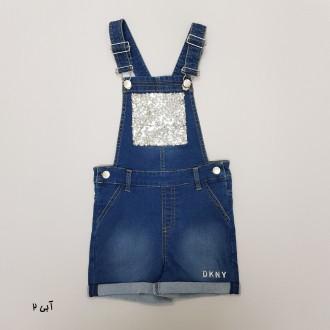پیشبندار دخترانه 31441 سایز 12 ماه تا 14 سال کد 5 مارک DKNY