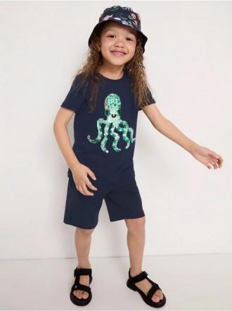 تی شرت بچگانه 31782 سایز 3 تا 8 سال کد 1 مارک LINDEX