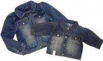 کت جینز دخترانه کد 15190 مارک 1989PLACE