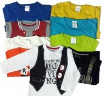 تی شرت استین بلند پسرانه 15210 سایز 18 ماه تا 5 سال مارک KIABI