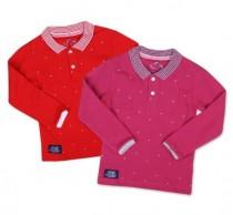 تی شرت دخترانه 18312 سایز 3 تا 24 ماه کد 2 مارک icon kidz
