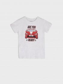 تی شرت پسرانه 32270 سایز 2 تا 10 سال مارک FOX&BUNNY