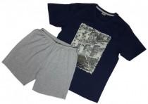 تی شرت و شلوارک مردانه 35064 سایز M,L,XL,XXL مارک LIVERGY