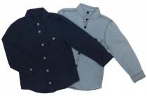 پیراهن جینز پسرانه 15237 سایز 3 تا 12 سال مارک MANGO KIDS