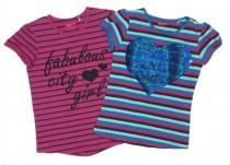 تی شرت دخترانه 15282 سایز 6 تا 12 سال مارک PEPPERTS