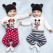 ست سه تکه نوزادی 16631 سایز 80 تا 95