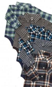 پیراهن زیردکمه دار پسرانه 15335 سایز بدوتولد تا 18 ماه مارک CARTERS