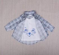 پیراهن پسرانه 18241 سایز 4 تا 18 ماه مارک ERGEE