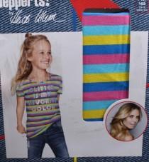 تی شرت دخترانه 11775 سایز 7 تا 14 سال مارک PEPPERTS