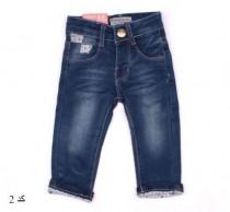 شلوار جینز دخترانه  110197 کد 2 سایز 6 تا 36 ماه مارک HANDSOME