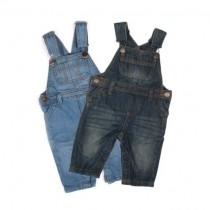 پیشبنددار جینز پسرانه 18080 سایز 3 ماه تا 6 سال مارک TEX