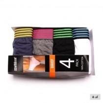 (mas)شرت اسلیپ 4 تایی مردانه 11069 مارک OUTDOOR