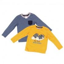 تی شرت پسرانه 18093 سایز 9 ماه تا 8 سال مارک SILVER SUN