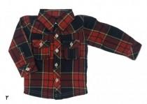 پیراهن پسرانه 15418 سایز 3 تا 24 ماه مارک carters