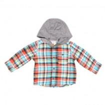 پیراهن کلاهدار پسرانه 18029 سایز بدوتولد تا 5 سال مارک Carters
