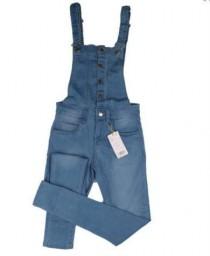 پیشبنددار جینز زنانه 16190 سایز 26 تا 30  MANGO