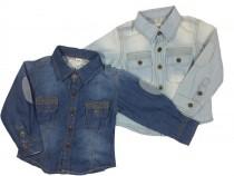 پیراهن جینز پسرانه 100011 سایز 2 تا 8 سال مارک ZARA