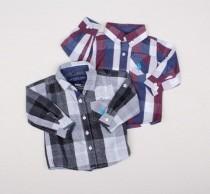 پیراهن پسرانه 11722 سایز 3 ماه تا 5 سال مارک U.S POLO