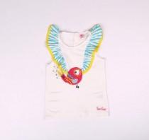 تی شرت دخترانه 16798 سایز 3 ماه تا 5 سال مارک tuc tuc