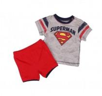 ست پسرانه 16870 سایز 3 تا 24 ماه مارک superman